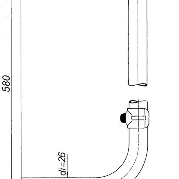 KLOSETT-SPÜLROHR GSV_GS1100